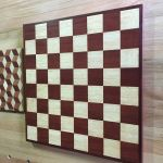 parquetry workshop chessboard and louis cube